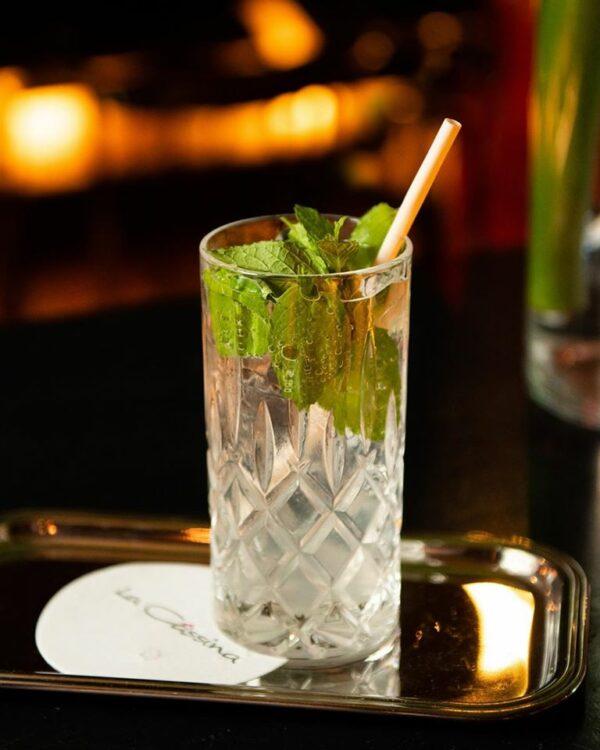 Paille de 14 cm et 8 mm de diamètre - idéale pour les cocktails